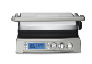 Secura GR 1503XL Reversible 2 in 1 Electric Indoor Grill Griddle