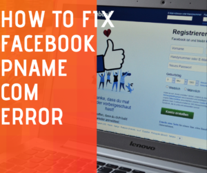 fix pname com facebook orca error
